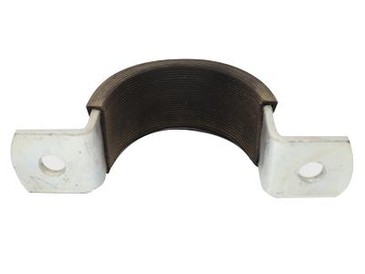 加皮垫的U型管箍